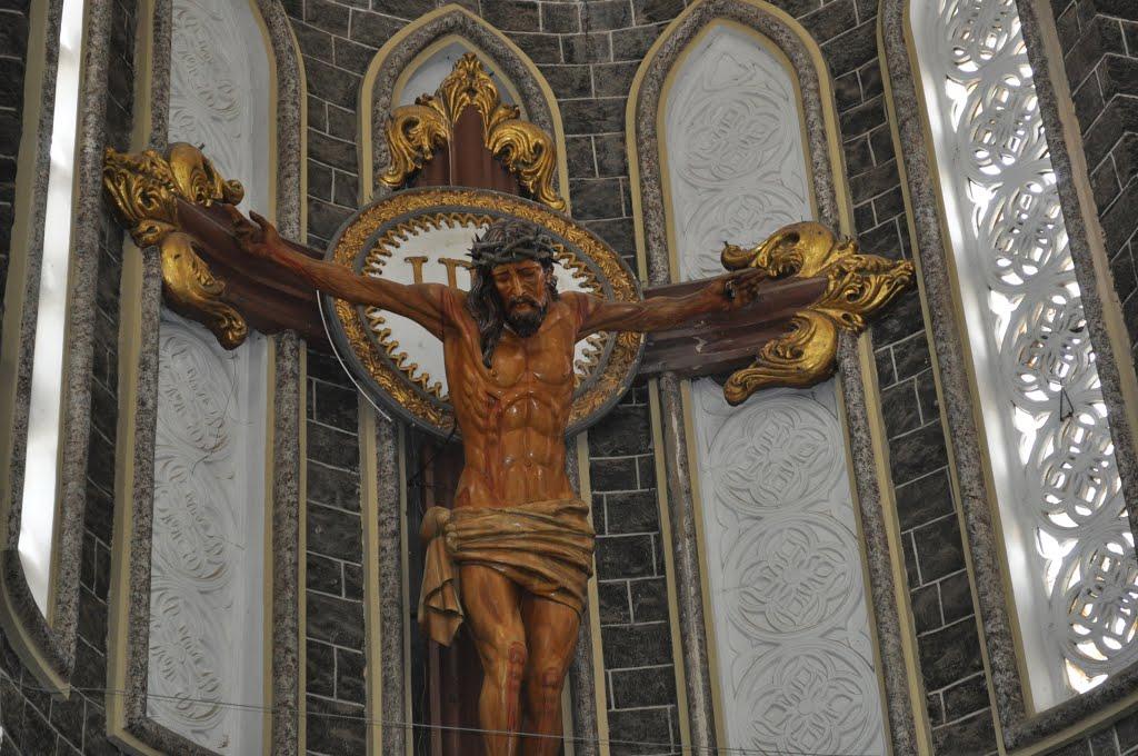 Cristo de Altar mas grande de América Latina- Sandoná Nariño